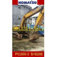 Buy cheap Used Komatsu PC200-3 Excavator/Komatsu PC200-3 from wholesalers