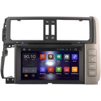 Quality High Resolution 150 Toyota Prado GPS Navigation System 2010 - 2013 16G Nand Rom Flash for sale