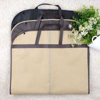 Quality Custom Size Hanging Garment Bag Carry On , Stock Clothes Bags For Travel for sale