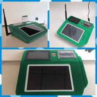 Best Android 4.4.2 OS Based POS Card Reader , Multi Touch Wireless Credit Card Reader wholesale