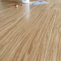 Buy Custom Comfortable Bamboo Floor Tiles Light Brown High Glossy Surface at wholesale prices