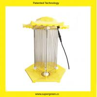 Quality Latest Patented Inverter Flicker Technology Organic farming Solar Light for Pest Trap for sale