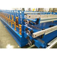 Quality Metal Sheet Roof Roll Forming Machine , Metal Roofing Roll Former 550MPa Tension for sale