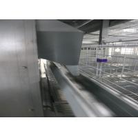 Quality Meat Chicken Poultry Automation Equipment / Battery Type Cage Q235 Steel Wire Material for sale