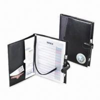 China Simulated Leather Book Cover with Magnetic Closure, Measures 10 x 7.5-inch on sale
