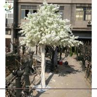 Quality UVG CHR060 Artificial Cherry Blossom Tree for Wedding white color 13ft high for sale