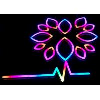 China Illuminated LED Neon Signs / Store Neon Signs With RGB Changeable Colors on sale