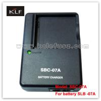 Quality Camera Charger SBC-07A For Samsung Battery SLB-07A for sale