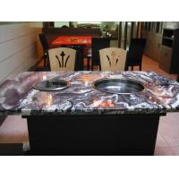 Quality Marble Desktop Smokeless barbecue pot Hot and cold snow pot Smokeless grilled pot for sale