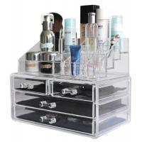 China Custom Acrylic Makeup organizer Cosmetic organizer Jewelry and Cosmetic Storage Display Boxes on sale