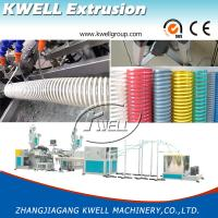 Quality CE Certified 12-200mm Flexible PVC Spiral Hose Making Machine, Corrosion Protection Hose for Conveying Water/Oil/Dust for sale