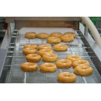 Quality 12000 Pcs / Hr Industrial Donut Making Machine With Customized Hexagonal Cutter for sale