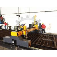Buy ISO CNC Flame Cutting Machine 4m Span Two Heads Double Servo Drivers Thick Plate at wholesale prices