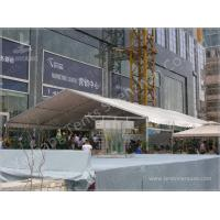 China 50 Seater Clear Span Fabric Structures Reusable Sunshade Shelter 6X15M on sale