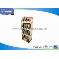 Best Promotion Bumpingproof Pop Cardboard Displays SGS / ISO For Supermarket wholesale