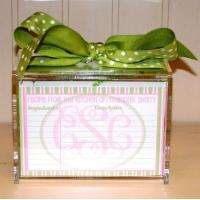 Best Hot Sale!!! Factory Handmade Manufacturing Acrylic Clear Recipe Card Box for 4x6 Card wholesale