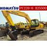 Buy cheap Used Crawler Excavators Komatsu PC220-6/Komatsu PC220-6 from wholesalers
