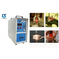 Quality 220V 35A IGBT Welding Copper Induction Brazing Machine for sale