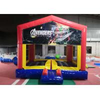 China Commercial Durable Adult Size Bounce House Heavy Duty Lead Free Thread on sale