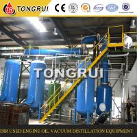 Green Technology Waste Engine Oil Recycling Machine recover To clean Diesel oil