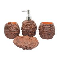 Quality Bathroom set - resin - caly color- EA0011 for sale