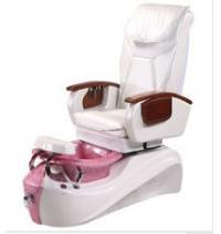 Quality WT-8236 White Pedicure Spa Massage Chair With Bainn / European Touch Pedicure Chair for sale