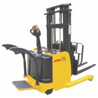 Quality 1.5 Ton Forklift Reach Stacker , Single Scissor Forward Warehouse Stand Up Forklift for sale