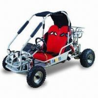 China Go Kart with Spring Shock Absorber, Back, and Pinion Steering on sale