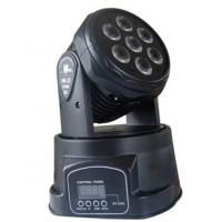 Quality on sales best selling led 7pcs*10W mini rgb LED moving head washer lights for sale