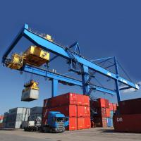 Quality Cargo Seaport Container Gantry Crane  / 45T Rubber Tyred Gantry Crane for sale