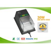 Quality Long life 50000hours 30 watt led wall pack security lighting with Photocell for sale