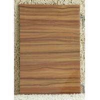 Quality Black Walnut Plain / Colorful 18mm melamine faced mdf board For Indoor Furniture for sale