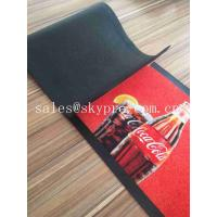 China Colorful Molded Rubber Products Home Pub Bar Mat , Personalized Beer Drip Kitchen Rubber Mats on sale