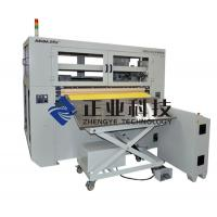 China Auto Glass Fiber Prepreg Cutting Machine , Cutting Frequency Take 500mm Length on sale