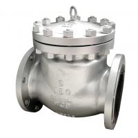 China 3' Material ASTM A216 Gr WCB Check Valve with API 6D Flange ANSI B 16.5 on sale