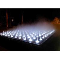 Quality Garden Decoration Misting Lighted Fountain , Indoor Stage Fog Mist Fountain for sale