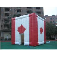 Quality giant inflatable cube tent inflatable canada maple leaves tent for sale