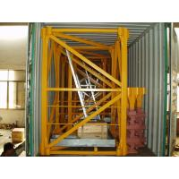 Quality Mast Section Potain Tower Crane Spare Parts Q345b Structural Steel Fabrication for sale