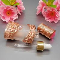 Best Hot sell 10ml copper/gold glass eaaential oil bottle ,high-end,atmosphere and grade wholesale