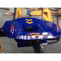 Construction Hydraulic Pile Cutting Machine , Concrete Pile Breaker For Excavator