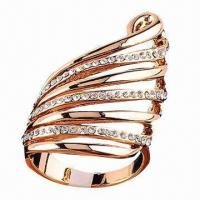 Buy cheap Fashionable Ring for Weddings, Anniversaries and Parties from wholesalers