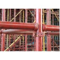 China Construction Perforated Sheet Roll Forming Machine Scaffolding plank standing tube welding device on sale