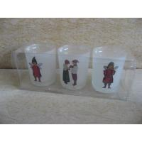 Cheap Frosted Glass Candle Holder for sale