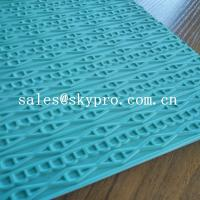 China Customized eva+ rubber foam sheet for sole soft  with 3D pattern on sale