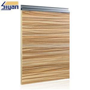 China Wood Grain Modern Bathroom Cabinet Doors Sliding Open With 57mm Width on sale