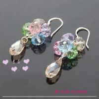 China Fresh Crystal Crafts Earring (JDER-029) on sale
