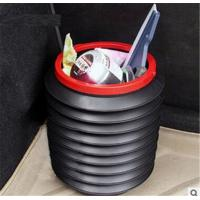 Best 4L folded muti-function flexible bucket Car Wash Outdoor use fishing portable folding bucket wholesale