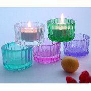 China Colored Tealight candle holder on sale