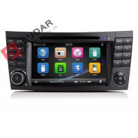Quality Auto Radio Double Din Gps Car Stereo , Mercedes E Class Dvd Player Built In SD Port for sale