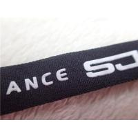 Buy cheap Professional Polyester Elastic Cloth Band With Printing Silicone Logo from wholesalers